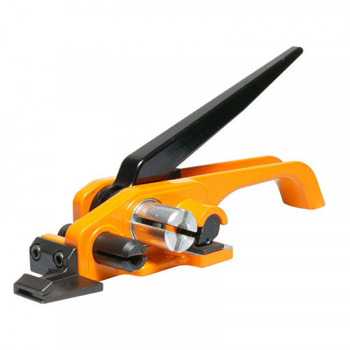 Bundling Tensioner & Cutter for Composite, Corded or Woven Polyester Strapping.