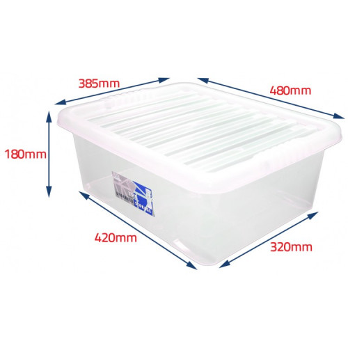 28 Litre Storage boxes