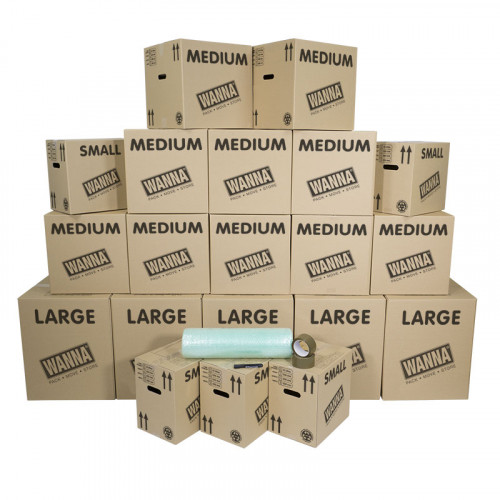 3-4 bed moving kit
