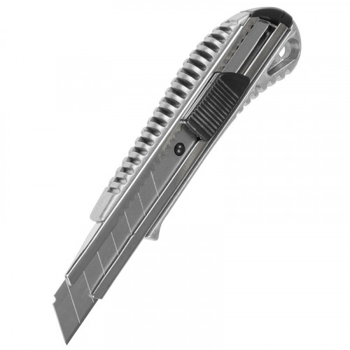 Knife Metal Body Retractable Blade In Snap-off Sections