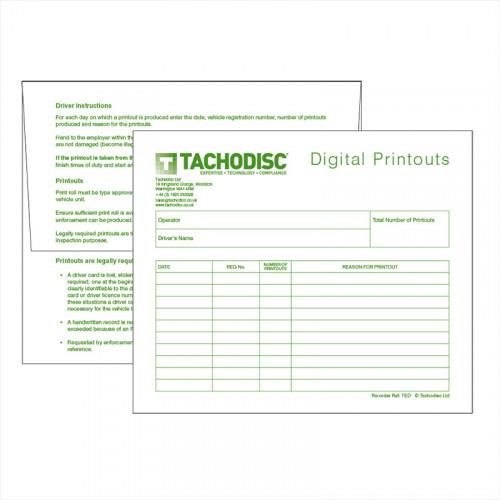 Digital Weekly Envelopes (TED)