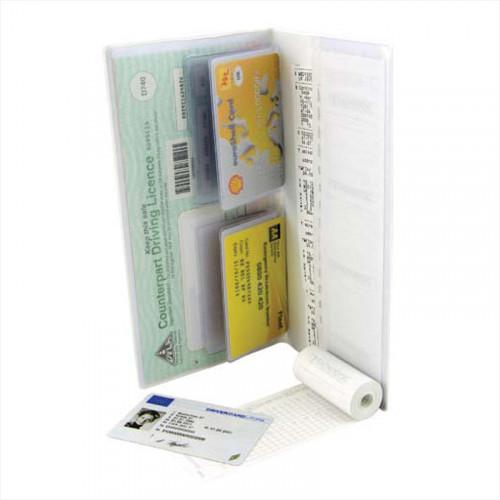 Hardback Digital Tachograph Wallet