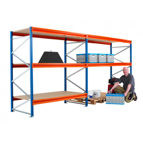 Longspan Racking Shelf 2682 W / 900 D