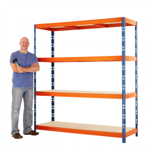 Max 1 Heavy Duty Shelving 2000 H x 2400 W x 900 D