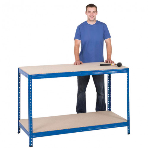 Basic Chipboard Workbench 1400mm Wide