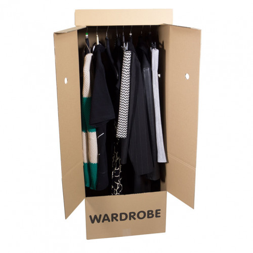 Wardrobe Boxes Open