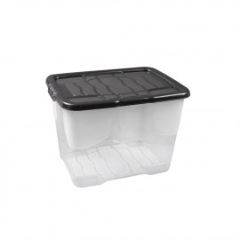 24 Litre Crate with Black Lid