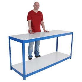 Basic Melamine Workbench 1400mm Wide