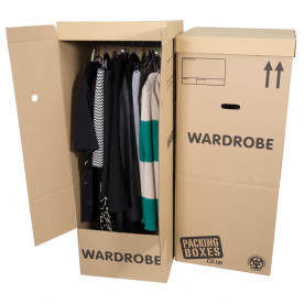 Wardrobe Boxes x 3 Pack