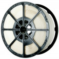 Polypropylene Strapping on Plastic Spools White