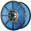 Polypropylene Strapping on Plastic Spools Blue
