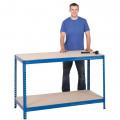 Basic Chipboard Workbench 1800mm Wide